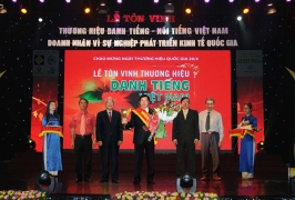 Lễ tôn vinh Thương hiệu Danh tiếng VN