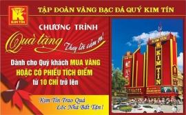 Kim Tín triển khai chương trình Quà tặng thay lời cảm ơn