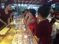 Thông tin thị trường vàng sáng 10.10.2018: Vàng thế giới giảm trong nước nhích nhẹ