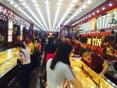 Thông tin thị trường vàng sáng 22.3.2019: Giá vàng trong nước vẫn đà tăng