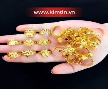 Nhẫn Kim tiền Kim tý chào đón năm Canh tý và ngày Thần tài