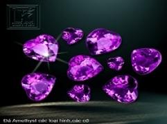 Đá quý cho người sinh tháng 2: Thạch anh tím - Amethyst