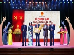 Tổng Giám đốc Cao Kim Trọng vinh được Chủ tịch nước trao tặng danh hiệu Nghệ nhân Ưu tú