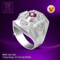 Nhẫn nam bạc 925