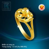 Nhẫn nữ vàng 24K