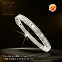 Vòng tay nạm Kim cương